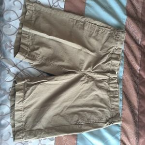 "♥️♥️Joe fresh khaki shorts. 9"" inseam"
